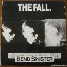 Discos de vinilo: THE FALL –BEND SINISTER LP. Lote 147776122