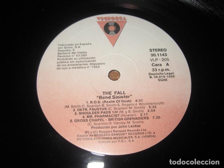 Discos de vinilo: The Fall –Bend Sinister Lp - Foto 4 - 147776122