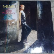 Discos de vinilo: MILVA AND ASTOR PIAZZOLLA -LIVE AT THE BOUFFES DU NORD- LP 1984 METRONOME GERMAN. Lote 147776218