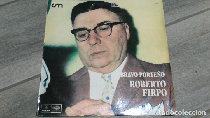 ROBERTO FIRPO -BRAVO PORTEÑO- LP 1973 EDEON ARGENTINA (Música - Discos - LP Vinilo - Grupos y Solistas de latinoamérica)