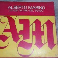 Discos de vinilo: ALBERTO MARINO -LOS EXITOS DE ALBERTO MARINO- LP 1976 DISC JOCKEY ARGENTINA. Lote 147778534