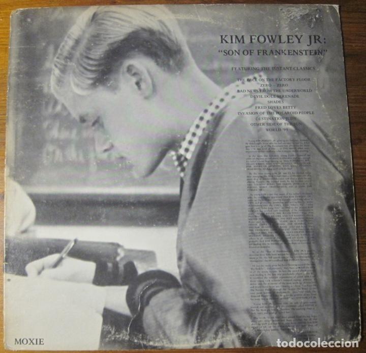 KIM FOWLEY JR.–SON OF FRANKENSTEIN LP (Música - Discos - LP Vinilo - Otros estilos)