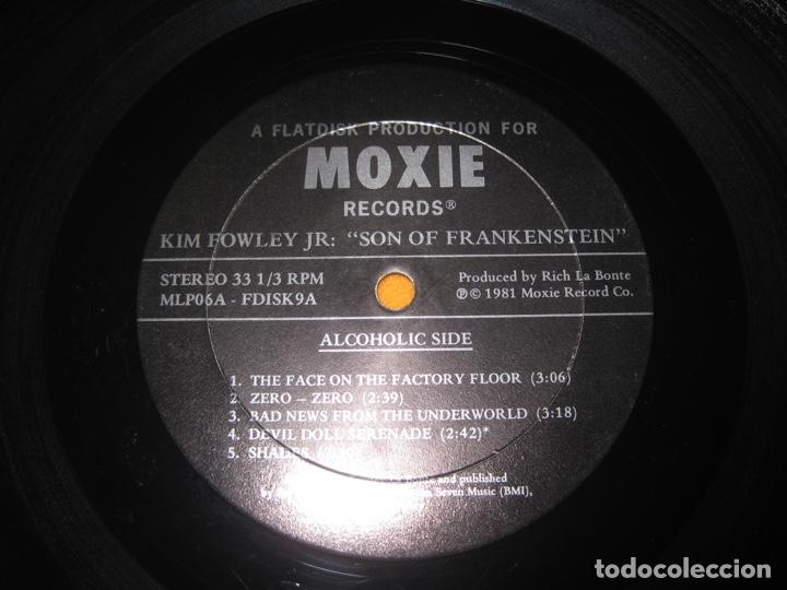Discos de vinilo: Kim Fowley Jr.–Son Of Frankenstein Lp - Foto 3 - 147778774