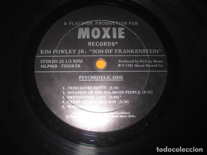 Discos de vinilo: Kim Fowley Jr.–Son Of Frankenstein Lp - Foto 4 - 147778774