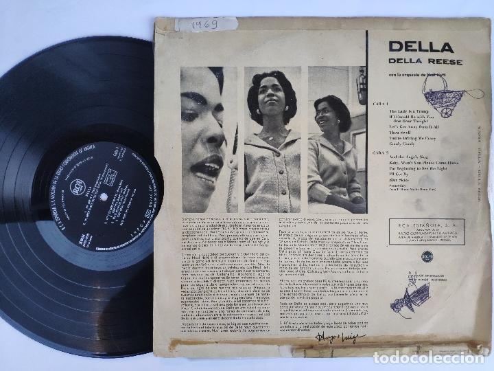 Discos de vinilo: DELLA REESE - LP Edición española - Foto 2 - 147780886
