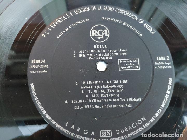 Discos de vinilo: DELLA REESE - LP Edición española - Foto 3 - 147780886