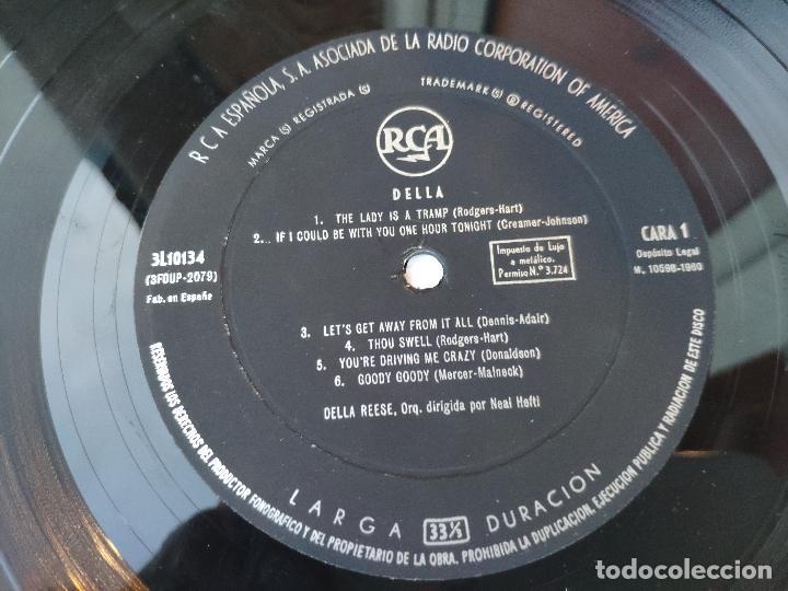 Discos de vinilo: DELLA REESE - LP Edición española - Foto 4 - 147780886
