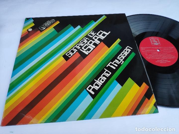 ROLAND THYSSEN - LP ESPAÑOL - NUEVO - SONRISA DE ISRAEL (Música - Discos - LP Vinilo - Grupos Españoles de los 70 y 80)