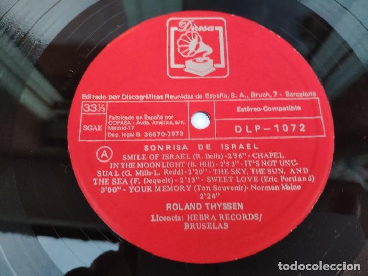 Discos de vinilo: ROLAND THYSSEN - LP Español - NUEVO - SONRISA DE ISRAEL - Foto 3 - 147780962
