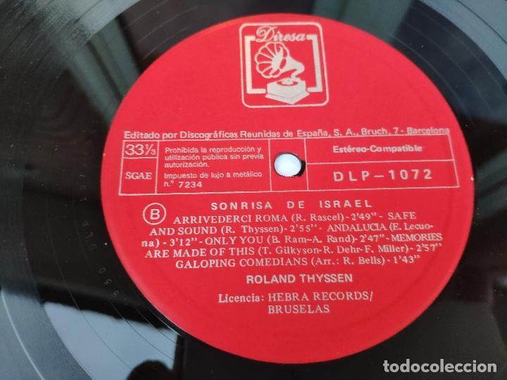 Discos de vinilo: ROLAND THYSSEN - LP Español - NUEVO - SONRISA DE ISRAEL - Foto 4 - 147780962