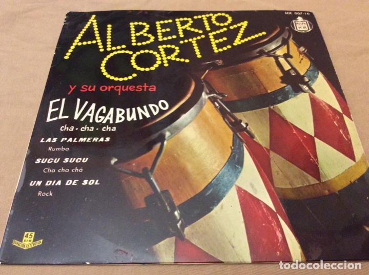 ALBERTO CORTEZ EL VAGABUNDO / LAS PALMERAS / SUCU SUCU / UN DIA DE SOL. 1960 HISPAVOX. (Música - Discos de Vinilo - EPs - Grupos y Solistas de latinoamérica)