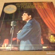 Discos de vinilo: ALBERTO CORTEZ EN FLORIDA PARK. DILE, ROSA SILVESTRE, BALADA DEL AMANECER, RENATA. 1963.. Lote 147784410