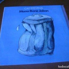 Discos de vinilo: LP : CAT STEVENS / MONA BONE JAKON . Lote 147787074