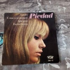 Discos de vinilo: PIEDAD – A PALOS - IFI – DIE-17 - 1967. Lote 147787130