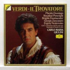 Discos de vinilo: CAJA NUEVA PRECINTADA - VERDI - IL TROVATORE. Lote 147788346