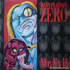 Discos de vinilo: DESTINATION ZERO MR.EVIL LP 1991. Lote 147791926