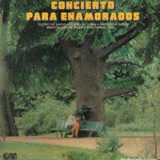 Discos de vinil: CONCIERTO PARA ENAMORADOS - SUEÑO DE AMOR....LP GRAMUSIC DE 1973 ,RF-7203, BUEN ESTADO. Lote 147818210