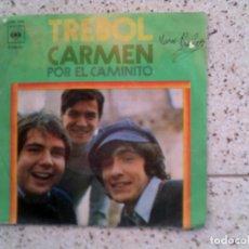 Discos de vinilo: DISCO DEL GRUPO TREBOL ,TEMAS ,CAMEN Y POR EL CAMINITO . Lote 147820190