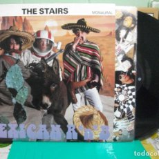 Discos de vinilo: THE STAIRS MEXICAN R 'N' B LP UK 1992 PEPETO TOP. Lote 147825974