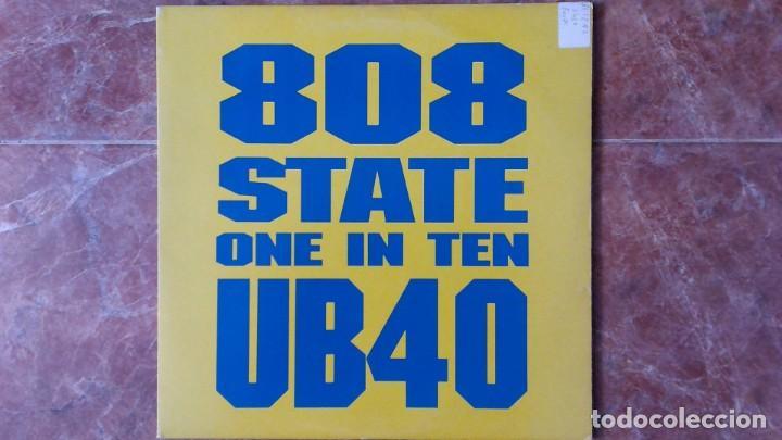 808 STATE / UB40 -ONE IN TEN- 12´ 1992 TOMMY BOY USA (Música - Discos de Vinilo - Maxi Singles - Reggae - Ska)