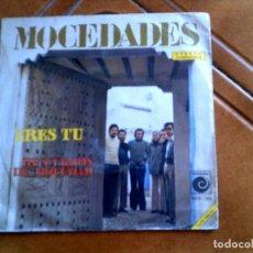 Discos de vinilo: DISCO DEL GRUPO MOCEDADES TEMAS ,ERES TU Y RECUERDOS DE MOCEDAD. Lote 147830454