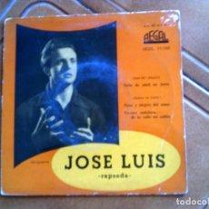 Discos de vinilo: DISCO DE JOSE LUIS INCLUYE 4 TEMAS AÑO 1958. Lote 147831370