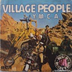Discos de vinilo: VILLAGE PEOPLE. Y.M.C.A. SINGLE ESPAÑA. Lote 147834410