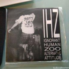 Discos de vinilo: IHZ IGNORANT HUMAN ZOO – ALTERNATIVE ATTITUDE (EDICIÓN BRASILEÑA) RARÍSIMO. Lote 147841598