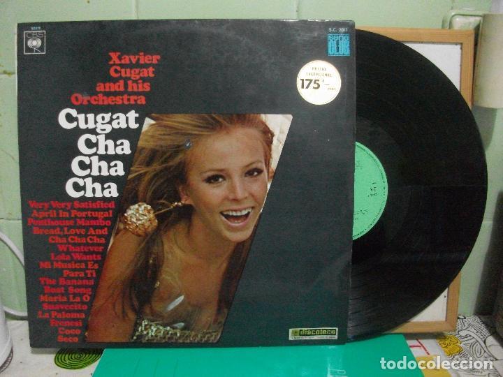 XAVIER CUGAT AND HIS ORCHESTRA. CHA CHA CHA. CBS 1967 LP (Música - Discos - LP Vinilo - Orquestas)