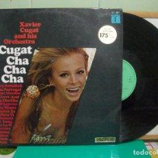 Discos de vinilo: XAVIER CUGAT AND HIS ORCHESTRA. CHA CHA CHA. CBS 1967 LP . Lote 147846038