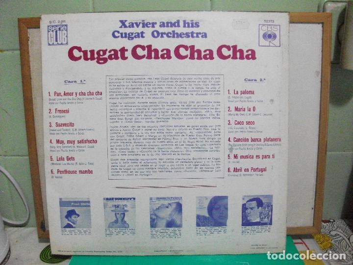 Discos de vinilo: Xavier Cugat and his Orchestra. Cha cha cha. CBS 1967 LP - Foto 2 - 147846038