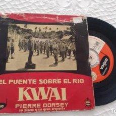 Discos de vinilo: E P ( VINILO) DE PIERRE DORSEY SU PIANO Y SU GRAN ORQUESTA AÑOS 50. Lote 147847386