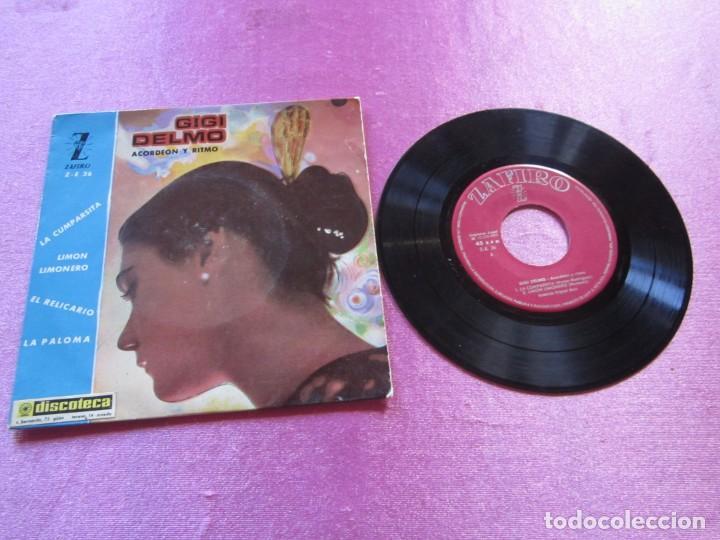 GIGI DELMO ACORDEON Y RITMO - LA CUMPARSITA EP (Música - Discos - Singles Vinilo - Grupos y Solistas de latinoamérica)