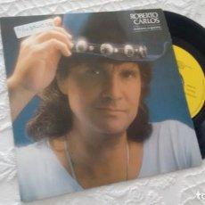 Discos de vinilo: SINGLE (VINILO)-PROMOCION- DE ROBERTO CARLOS AÑOS 90. Lote 147849270