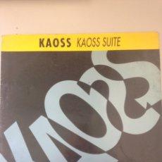 Discos de vinilo: KAOSS SUITE. Lote 147851513