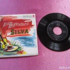 Discos de vinilo: LOS HERMANOS SILVA - LA FLOR DE LA CANELA + 3 TEMAS EP. Lote 147853898