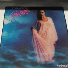 Discos de vinilo: SHAKATAK - INVITATIONS - LP 1982. Lote 147859726