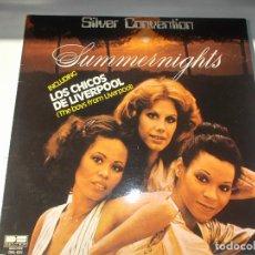 Discos de vinilo: SILVER CONVENTION - SUMMERNIGHTS - LOS CHICOS DE LIVERPOOL - LP BELTER 1977. Lote 147864486