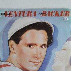 Discos de vinilo: D.J.VENTURA MR.BACKER /BLANCANIEVES. Lote 147864764