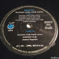 Discos de vinilo: KEENYA - WAITING (FOR YOUR LOVE). Lote 147864818