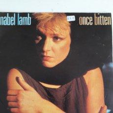 Discos de vinilo: ANNABEL LAMB/ONCE BITTEN. Lote 147864876
