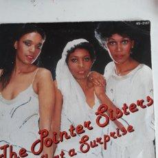 Discos de vinilo: THE POINTER SISTERS / WHAT A SURPRISE. Lote 147865025