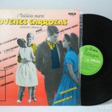 Discos de vinilo: DISCO LP DE VINILO - JOVENES CARROZAS / VERSIONES ORIGINALES - VOLUMEN 6 - RCA - AÑO 1981. Lote 147865312