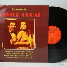 Discos de vinilo: DISCO LP DE VINILO - LO MEJOR DE XAVIER CUGAT / FRENESÍ, BÉSAME MUCHO - OLYMPO - AÑO 1976. Lote 147865492