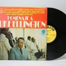 Discos de vinilo: DISCO LP DE VINILO - HOMENAJE A DUKE ELLINGTON - IMPACTO - AÑO 1974. Lote 147865528
