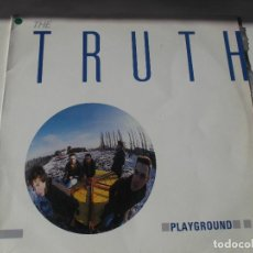 Discos de vinilo: THE TRUTH - PLAYGROUND - LP - ILEGAL RECORDS 1985 SPAIN. Lote 147865794
