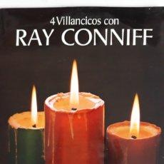 Discos de vinilo: RAY CONNIFF/4 VILLANCICOS. Lote 147866045