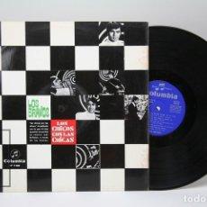 Discos de vinilo: DISCO LP DE VINILO - LOS BRAVOS / LOS CHICOS CON LAS CHICAS - COLUMBIA - AÑO 1967. Lote 147866405