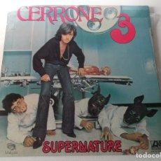 Discos de vinilo: CERRONE SUPERNATURE 1977 DOBLE PORTADA. Lote 147868894