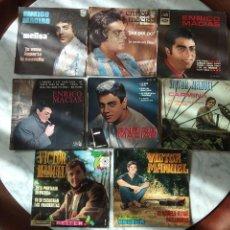 Discos de vinilo: LOTE DE 122 SINGLES VINILO AÑOS 60 EN SU MAYORÍA. Lote 147868922